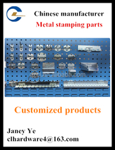 Zinc plated metal display stand