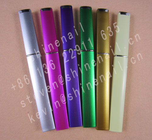 glass nail file with color case