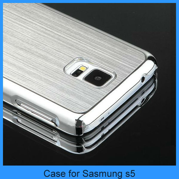 Aluminum case for samsung galaxy s5 Luxury Aluminum Ultra-thin Metal Case Cover Skin For Samsung Galaxy S5 SV i9600(PT-S5L208)