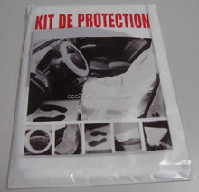Disposable Plastic Car 5 in 1 Clean Set Plastic Seat Cover
