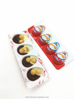 Hitwonchocolate biscuit candy with toy 12g 4pcs Pigeon Eggs Chocolate Cup With Biscuits