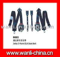 B002 top safety equipment ,3 point car safety seat belt(ELR),automotive safety seat belts