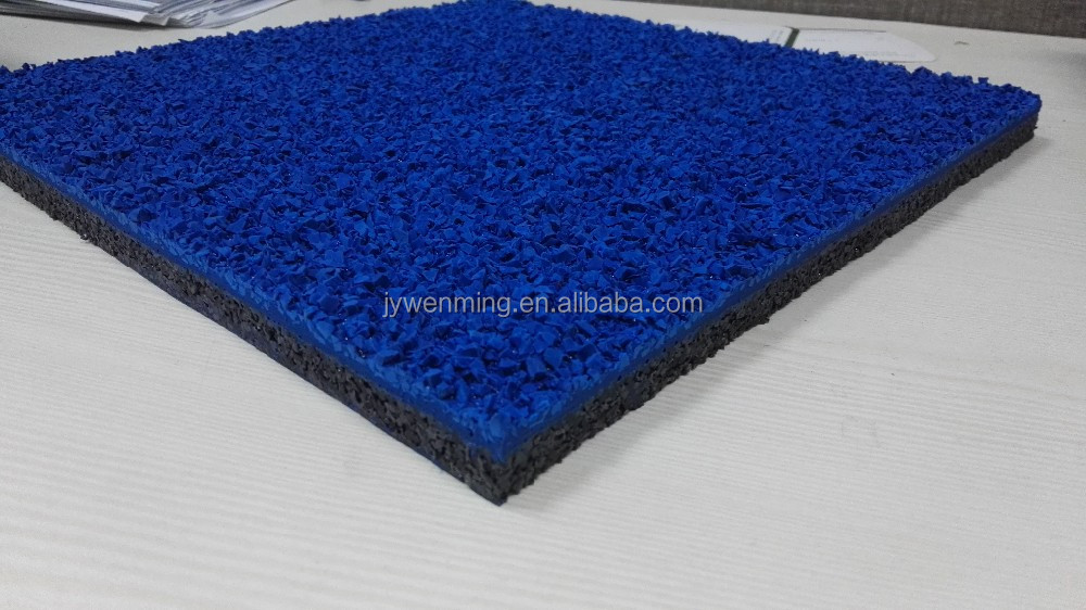 waterproof synthetic rubber running track material for Sports flooring