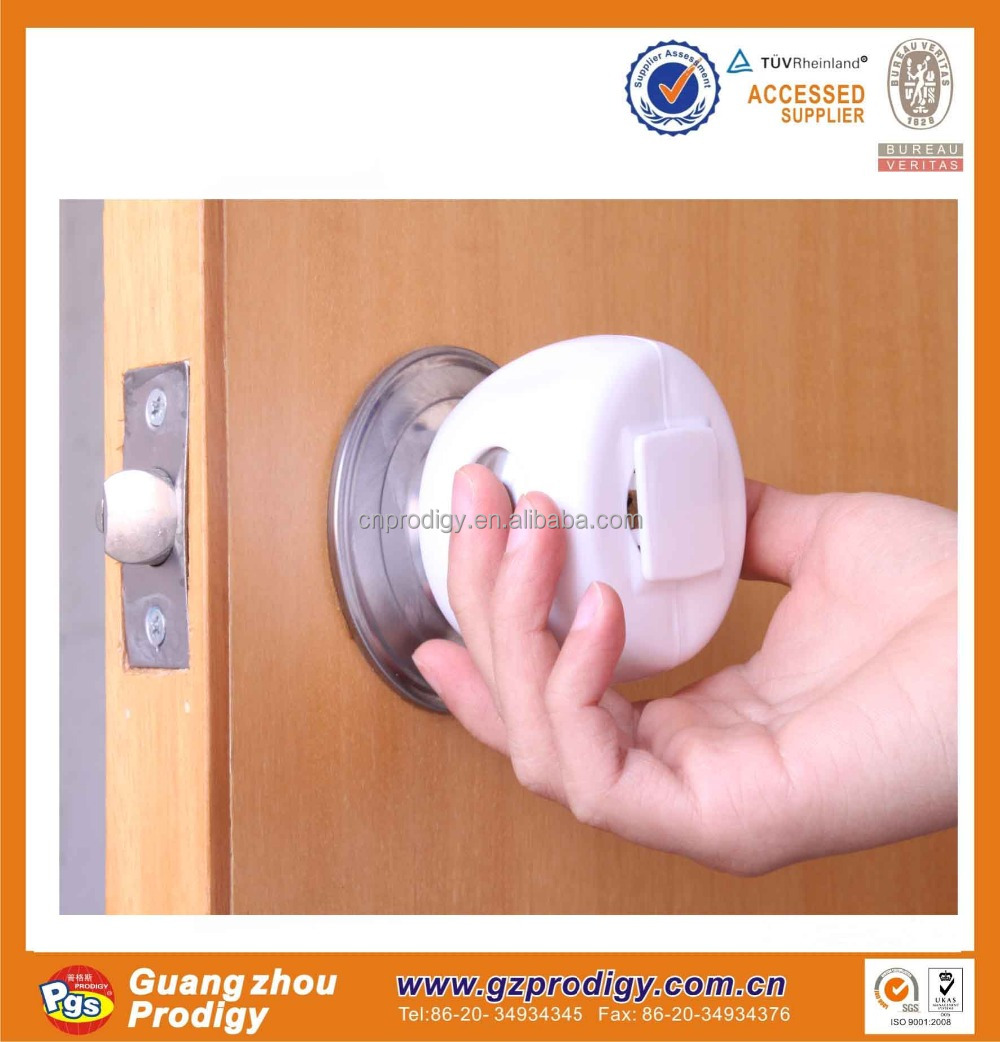 door lock cylinder/baby safety plastic lock/door knob lock
