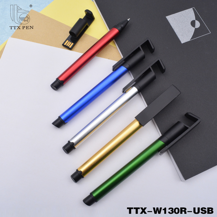 Customized Printed 2017 gifts ballpen, usb pen
