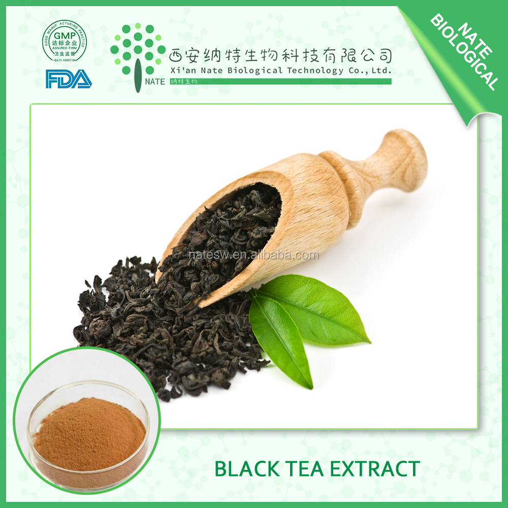 GMP Factory Supply High quality Black Tea Extract 30% Polyphenol with best price