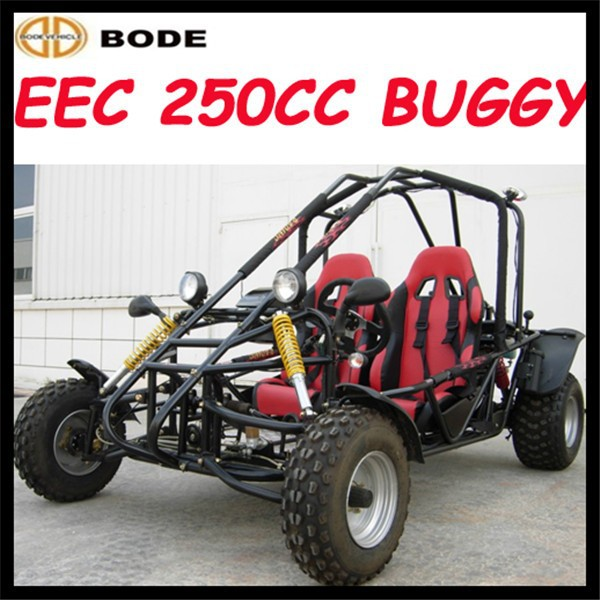 Cheap EEC 250cc two seat buggy car 250