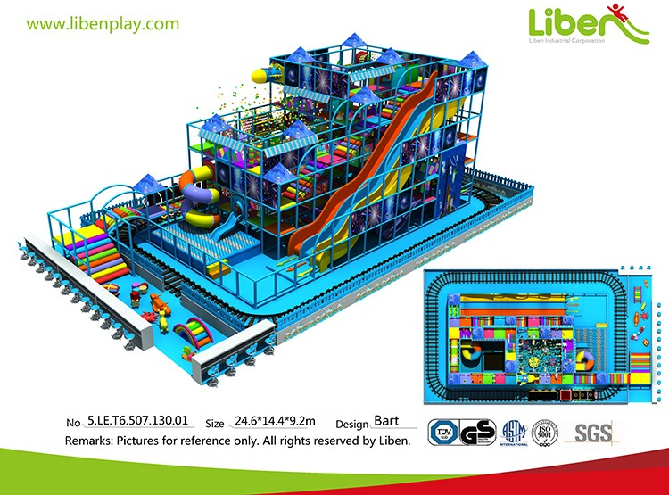 Best selling large size shopping mall multi-layer commercial children indoor playground equipment