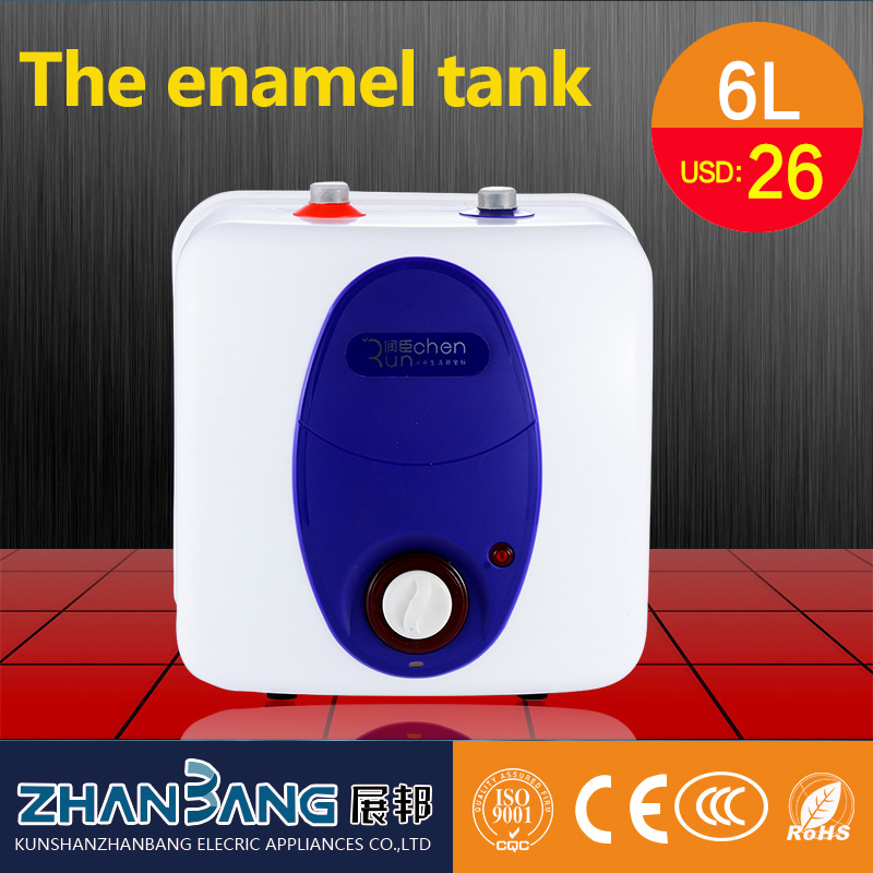 6l portable electric water hot heater for kitchen with enemal tank