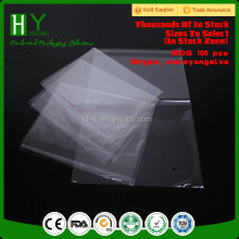 opp & cpp plastic bag/promotional self-adhesive opp plastic sleeve bag/printed self-adhesive opp plastic sleeve bag