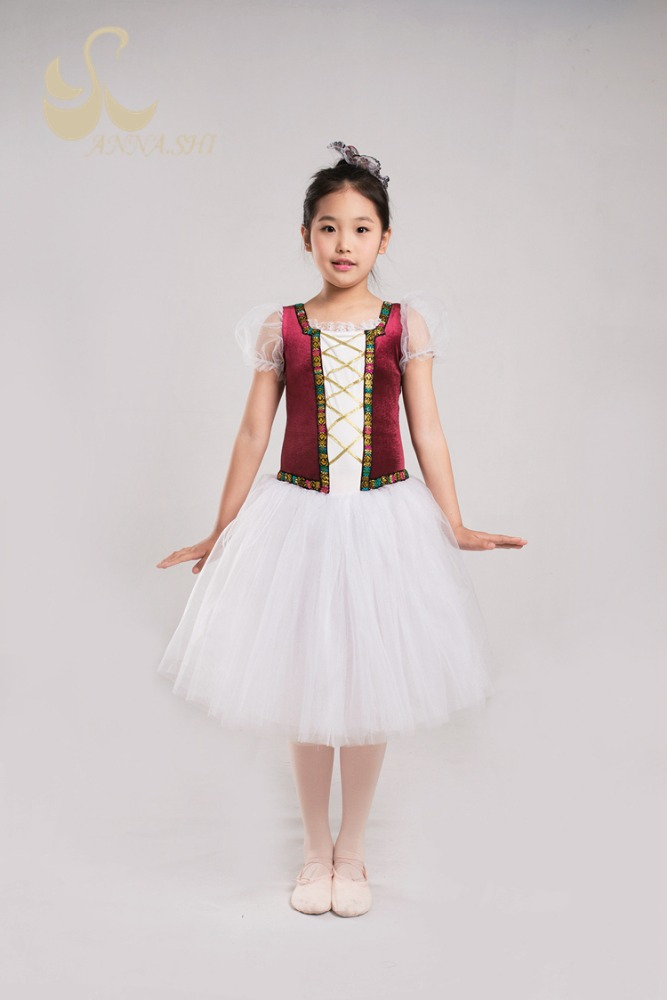High quality Fitting Soft lyrical dance costume dress