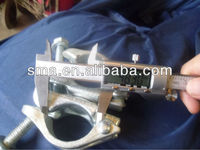 Formwork scaffolding accessories swivel /fixed clamp