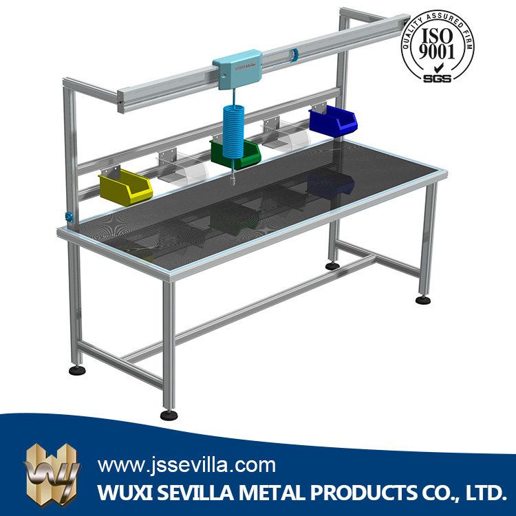 Electronic ESD Lab Workbench with Steel Movable Shelves