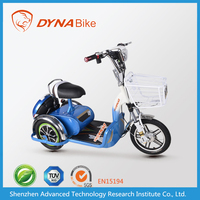 Trendy designed trike motorcycle with lead-acid bettery