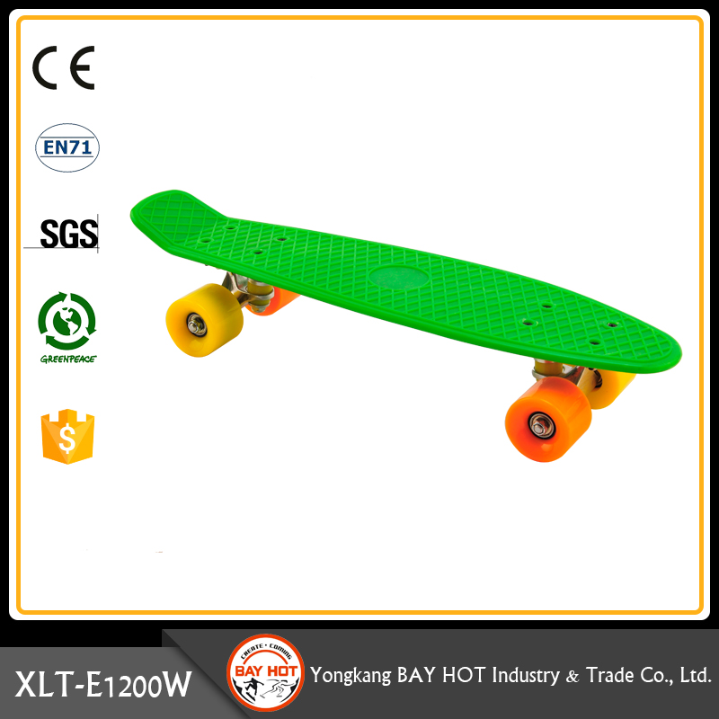 Out door sports Affordable plastic skateboard brands cruiser