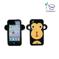 big face monkey silicone phone cases for sumsung