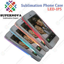 Alibaba China Supplier Sublimation LED Phone Case for iphone 5
