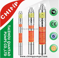 solar power system home CHIMP high pressure submersible screw pump