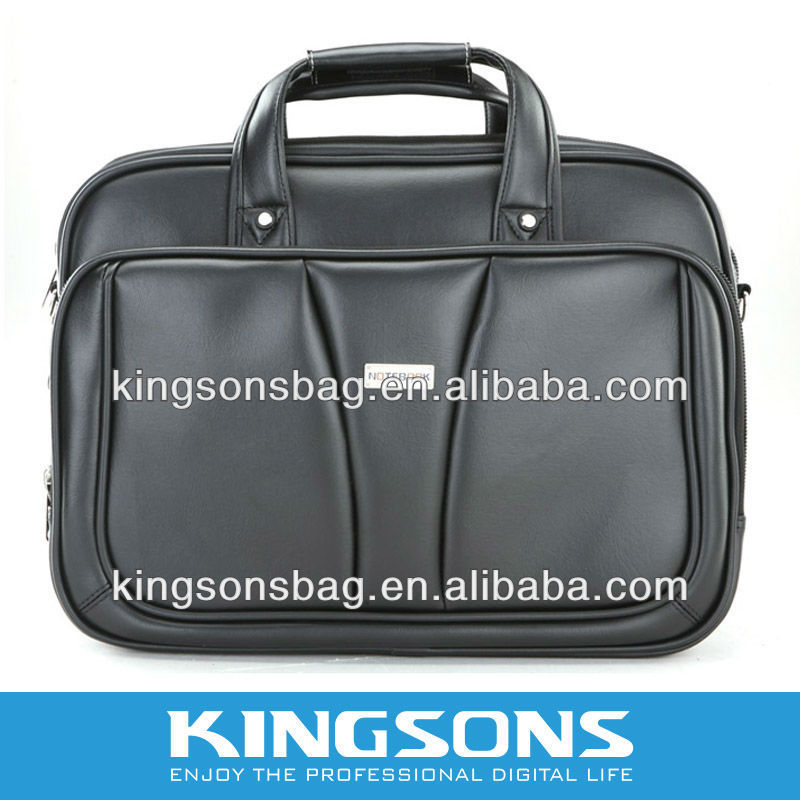 fashion leather PU laptop bag, laptop case