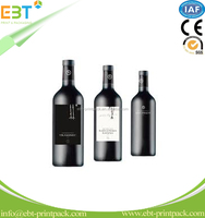 Brand Design in Roll/Sheet Beverage Wine Bottle Label Self-Adhesive Label with ISO Standard