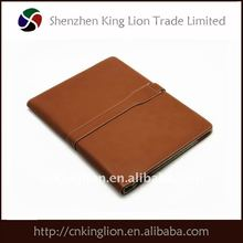 leather cover for ipad with elastic in the cornner