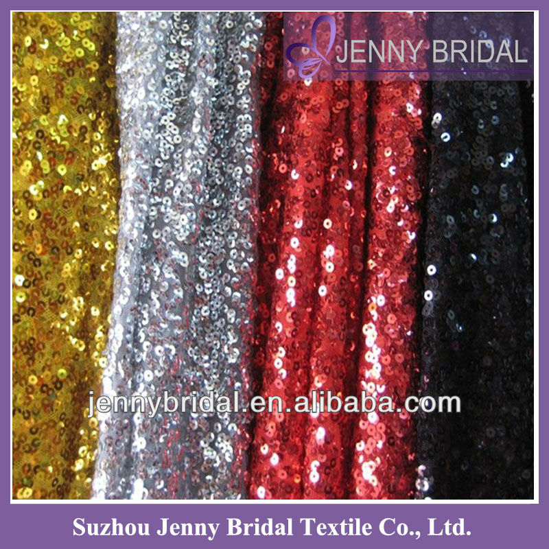 SQN01 Mesh Sequence table cloth,100 polyester sequin table cloth