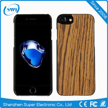 New Arrival High Quality Wood&PC Real Natural Wood Case Phone Cover For iPhone 5 6 6s 7 plus