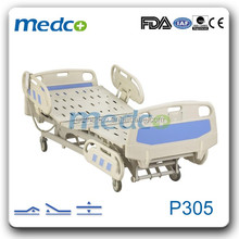 P305 Linkan Motor Three Function ICU Electric Hospital Bed