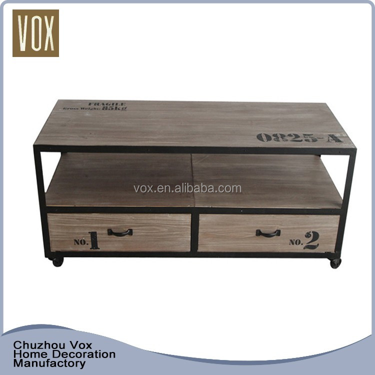 Hot Sale Custom Recyclable wooden tv stands made in china furniture factory