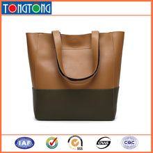 PU Leather Material Simple Style Handbag for Ladies