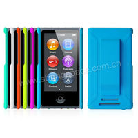 PC Rubberized Hard Snap-on Case for iPod Nano