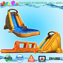27ft tall wonderful swimming pool inflatable water slide adult with detachable pool and slip slide