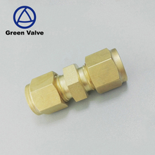Gutentop double-ferrule brass 10mm compression tube fitting
