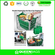 shopping cart bag with compartments