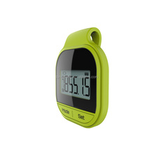 Simple Use Walking 3D Wireless Pedometer Steps Counter Calorie Consuming Recorder