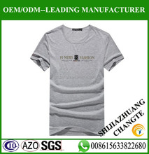 Man fashion organic t shirt , import blank t shirt for man