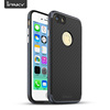 IPAKY 2 In 1 PC Frame with Diamond Gridding Texture TPU Cover Shock Absorption Hybrid Mobile Phone SGP Dotted Case For iPhone 7