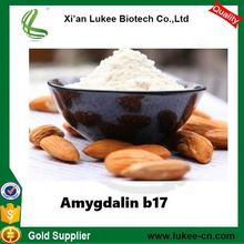 2017 100% Natural Vitamin B17, Bitter almond extract/Bitter Apricot Seed P.E.Amygdalin 98%