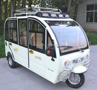 hot sale environmental electric tricycle for passenger with solar panel