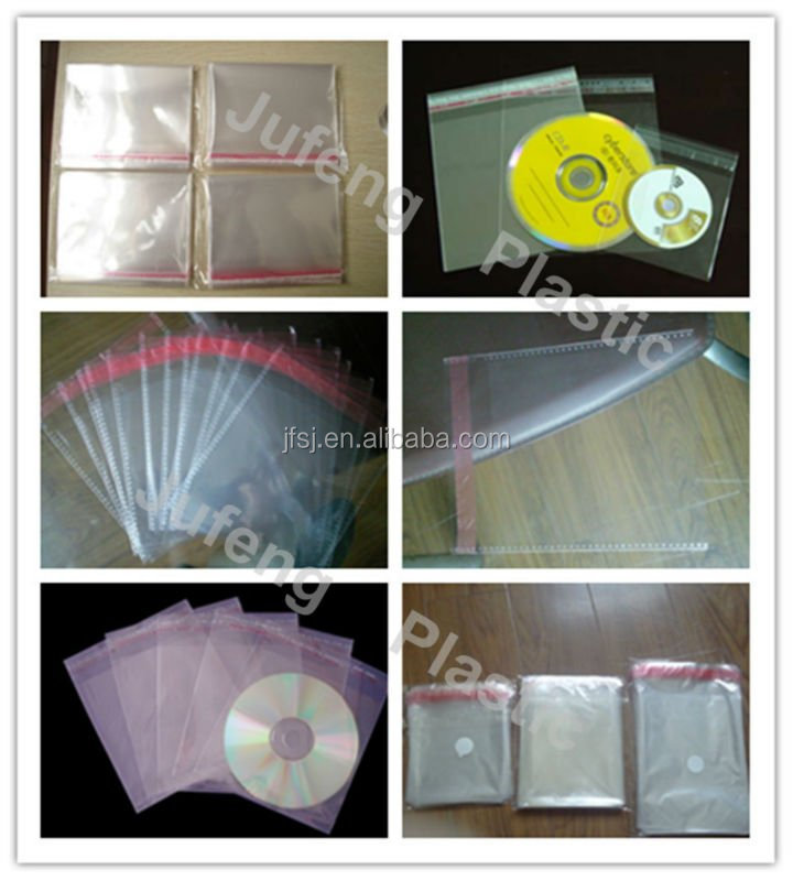 BOPP Bags, CD Sleeves, Plastic Packaging Bags