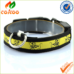 new products 2016 LED dog collar bulk/dog product yiwu