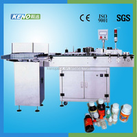 KENO-L114 e-liquid bottle labeling machine