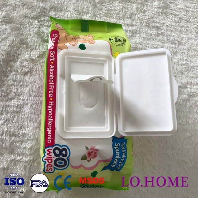 Wholesale non alcohol baby magical wet wipes/free sample baby wipes