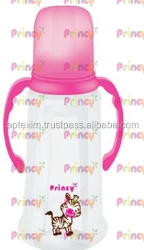 Food Safe PP & Silicone baby feeding bottle with nipples and accessories