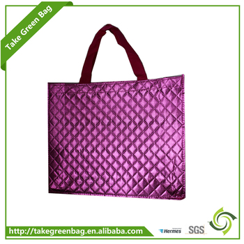 Promotion eco-friendly non-woven bottle shopping bag