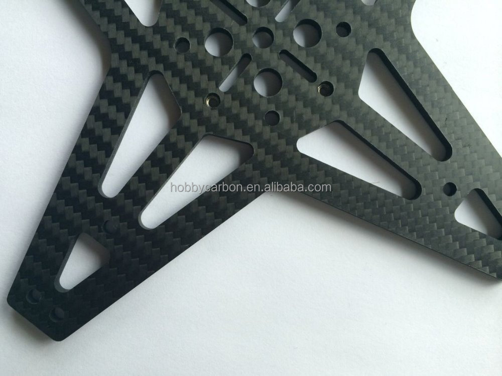 CNC Cutting 3K Twill matte Full Carbon Fiber Plate,carbon fiber reinforcement mesh for FPV/Drones