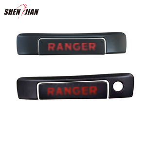 Tailgate rear black handle cover trim for Ranger 2015 -2019 accessories body kit