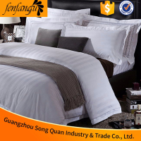 Factory direct price luxury design 100% cotton 300T/400T/600T quilt bedding sets for 3/4/5 strar hotel,hospital bedding sets too