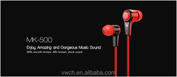 HiFi sound quality and fashionable stereo earphone with MIC for mobile phones