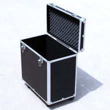 Factory professional wheeled aluminum tool hairdresser trolley case